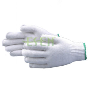 Cheap White Cotton Safety Hand Gloves /Working Glove /Industrial Cotton Gloves pictures & photos
