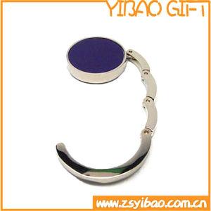 Custom Logo Foldable Handbag Hanger /Purse Hook with Epoxy Top pictures & photos