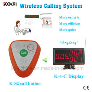 China Gold Supplier Wireless Calling Service Restaurant Pager pictures & photos