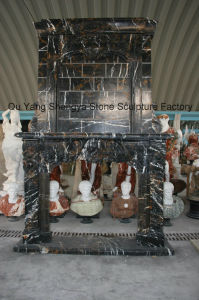 Fireplace Marble Mantel Marble Surround Mfp-026 pictures & photos