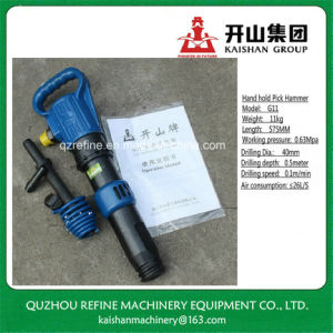 Kaishan G11 Anti-Freezing Hand Hold Air Pick Hammer pictures & photos