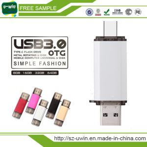 Type-C OTG USB 3.0 Flash Drive 8GB Pen Drive pictures & photos