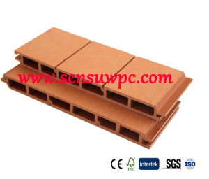 Sensu Outdoor Co-Extrusion Wood Composite WPC Decking pictures & photos