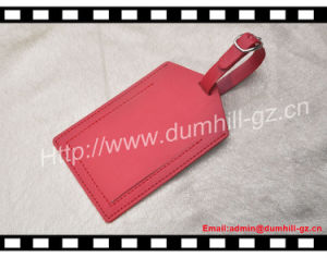 Various Shape Luggage Tag Custom Leather Luggage Tag with Free Logo pictures & photos