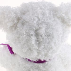 Beautiful White Color Plush Teddy Bear Soft Toy for Valentine Day Gift pictures & photos