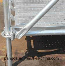 He Bei Cang Zhou Manufacturer Steel Galvanized Ringlock Scaffolding pictures & photos