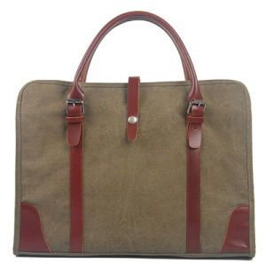 Hot Fashion Men Official Breifcase Promotional Men Bags Canvas Handbags Ga09 pictures & photos