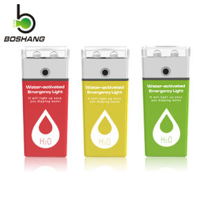 Bossang Water-Activated Emergency Light (with replacement magnesium-air batteries) , Colorful LED Emergency Light Js-4 pictures & photos