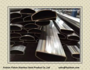 304 Stainless Steel Welded Special Shaped Pipe pictures & photos