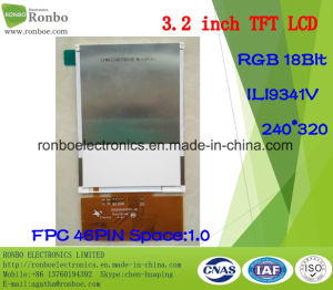 """3.2"""" 240*320 RGB TFT LCD Screen, Ili9341V, 46pin for POS, Doorbell, Medical pictures & photos"""