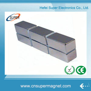 Powerful Permanent NdFeB/Neodymium Block Magnet pictures & photos
