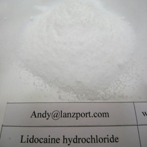 Safely Delivery 99.6% Lidocaine Hydrochloride Lidocaine HCl Local Anesthetic Drug pictures & photos