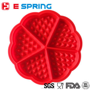 Silicone Waffles Cake Mold Non-Stick Bakeware DIY Baking Tools pictures & photos
