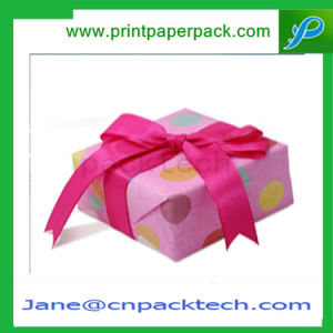 Cake Chocolate Candy Packing Box Ribbon Cardboard Paper Gift Box pictures & photos