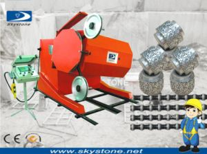 Dimaond Wire Saw Machine for Granite and Marble Quarry pictures & photos