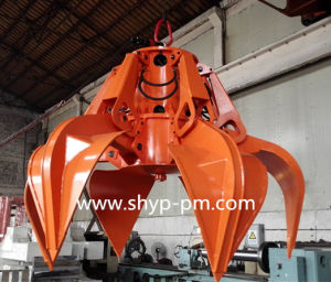 Motor Hydraulic Orange Peel Grab with Ce Certificate pictures & photos