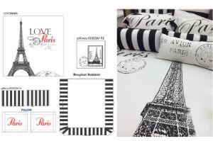 Paris Iron Tower - 7PCS Microfiber Comforterset pictures & photos