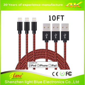 Metal Charging Cable for iPhone Charger USB Cable pictures & photos