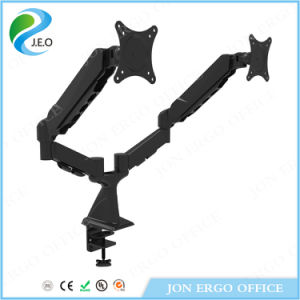 Jeo 360 Degree Adjustable Hot Sale Factory Price Height Adjustable Ds324FC Desk Clamp Monitor Riser pictures & photos