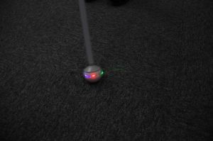 New Rolling Flash Walking Stick