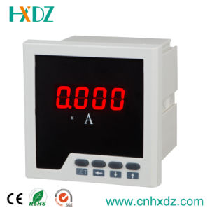 Single Phase LED DC Power Electric Ampere Meter Price of Ammeters 96X96 pictures & photos