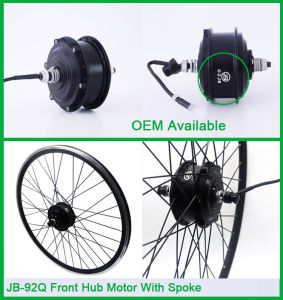 Czjb 36V 350W Front Wheel Electric Bike Hub Motor Conversion Kit pictures & photos