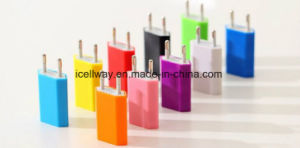 Colorful USB Charger EU/Us Plug Travel Charger Mobile Phone USB Wall Charger pictures & photos