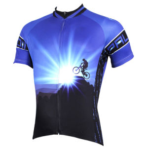 Men′s Dawn Style Short Sleeve Mountain Bike Cycling Wear pictures & photos