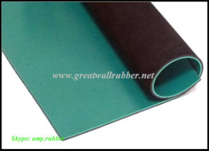 Green Black Composite Anti-Static Rubber Sheet, Anti-Static Sheet, Anti-Static Mat pictures & photos