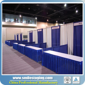 Trade Show Displays Pipe and Drapes for Exhibition Booth pictures & photos