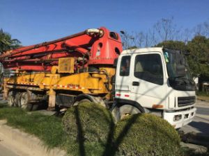 Used Concrete Pump Truck 37m/38m/42m/52m for Sale pictures & photos