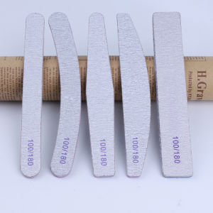 Custom Print Offered Manufactures of High Quality Finger Zabra Nail File Square Curve Sharp pictures & photos
