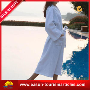 Mens Unisex Luxury Plush Microfiber Bathrobe pictures & photos