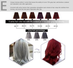 GMPC Factory Products Professional Permanent Hair Dye pictures & photos