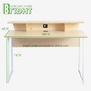 Computer Desk with Shelf/Furniture/Home Furniture/Wooden Table pictures & photos