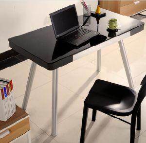 OEM Office Desk Glass Computer Desk 2003