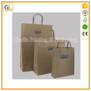 Cheap Custom Cheap Kraft Paper Bags Wholesale pictures & photos