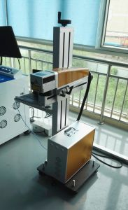 Bottle Date Code CO2 Laser Marking Machine/Laser Printing Machine pictures & photos