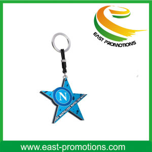 Customized Plastic Keychain with Logo pictures & photos