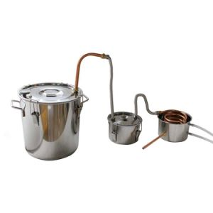 30L/8gal Silicon Sealed Double Box Home Brewery Pure Water Distiller pictures & photos