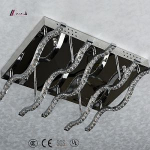 Simple Design Aluminum Ceiling Lighting with Crystal pictures & photos