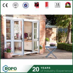 Double Panel Exterior Double Glazed House Impact Swing Door pictures & photos