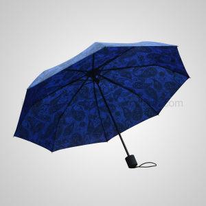 3 Fold Manual Fashion Wholesale Rain Umbrella (JF-MAT301) pictures & photos