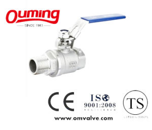 Stainless Steel 2 PC Ball Valve F/M pictures & photos