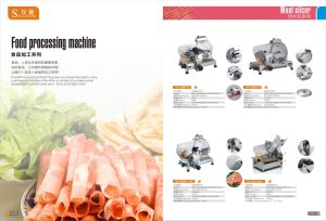 Used Condition Commercial Food Processing Meat Slicer pictures & photos