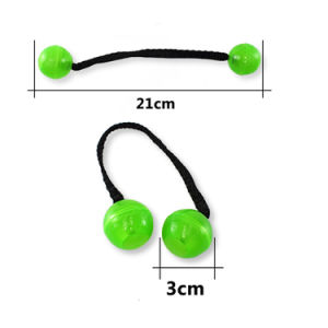 Factory Price 2017 New Arrival Glow in Dark Finger Yoyo Roll Ball Thumb Chucks Fidget Spinner pictures & photos
