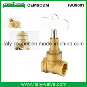 European Quality Brass&Bronze Lock Gate Valve (AV4066) pictures & photos