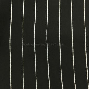 Hzf858 Polyester Stripe Satin Chiffon for Women′s Apparel pictures & photos