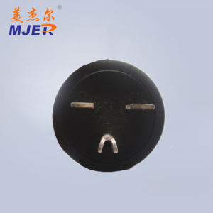 Mjer European Style VDE Power Cord AC 2pin Black Plug 15A 250V pictures & photos
