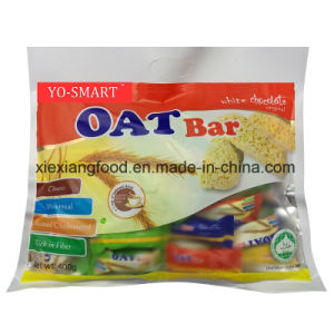 Oat Bar of White Chocolate with Source of Protein and Vitality pictures & photos